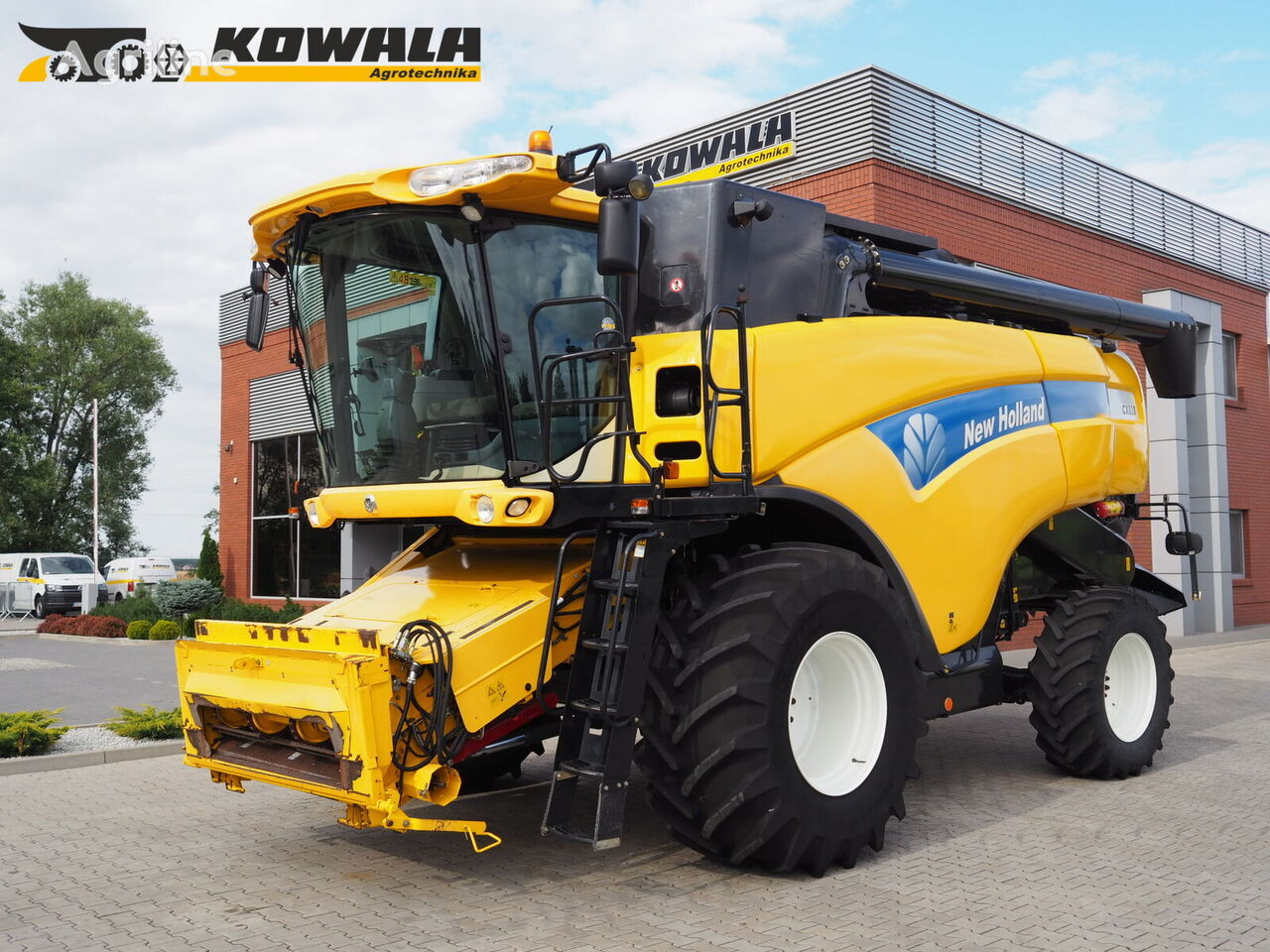 NEW HOLLAND CX 820 + BISO VX 650 biçerdöver