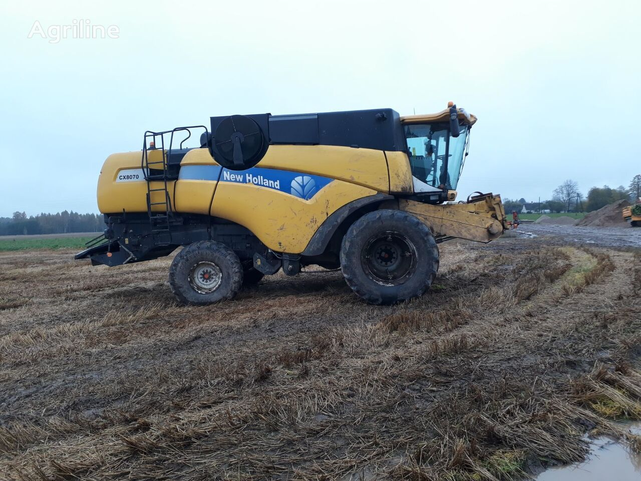 NEW HOLLAND CX8070 biçerdöver