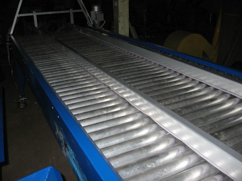 yeni inspekcionnyy rolikovyy stol - 2,5 m eleme tesisi