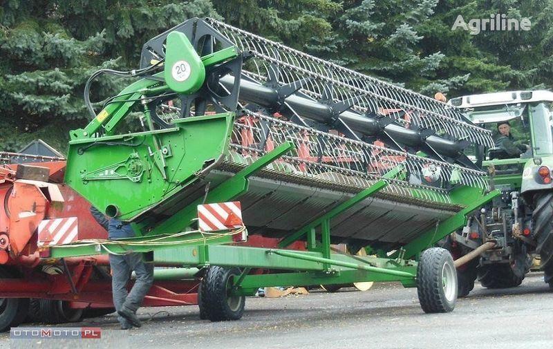 JOHN DEERE  HEDER 625 R 6,7 M orak makinesi