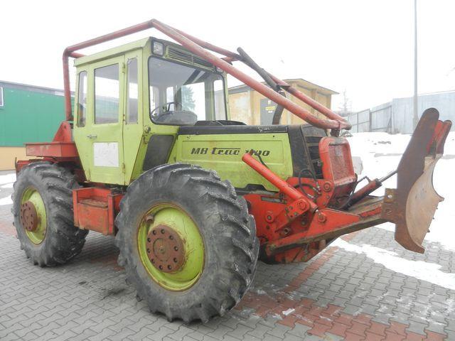 MB TRUCK 1100  ormancılık traktörü