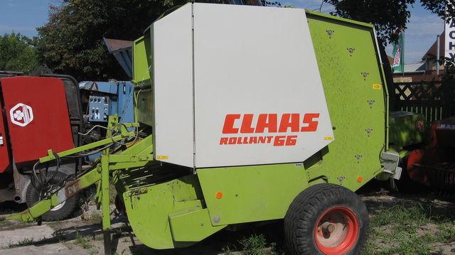 CLAAS ROLLANT 66,62.44.46 silindirik balya makinesi