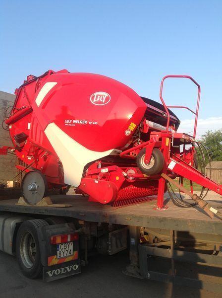 yeni LELY Welger RP 445 silindirik balya makinesi