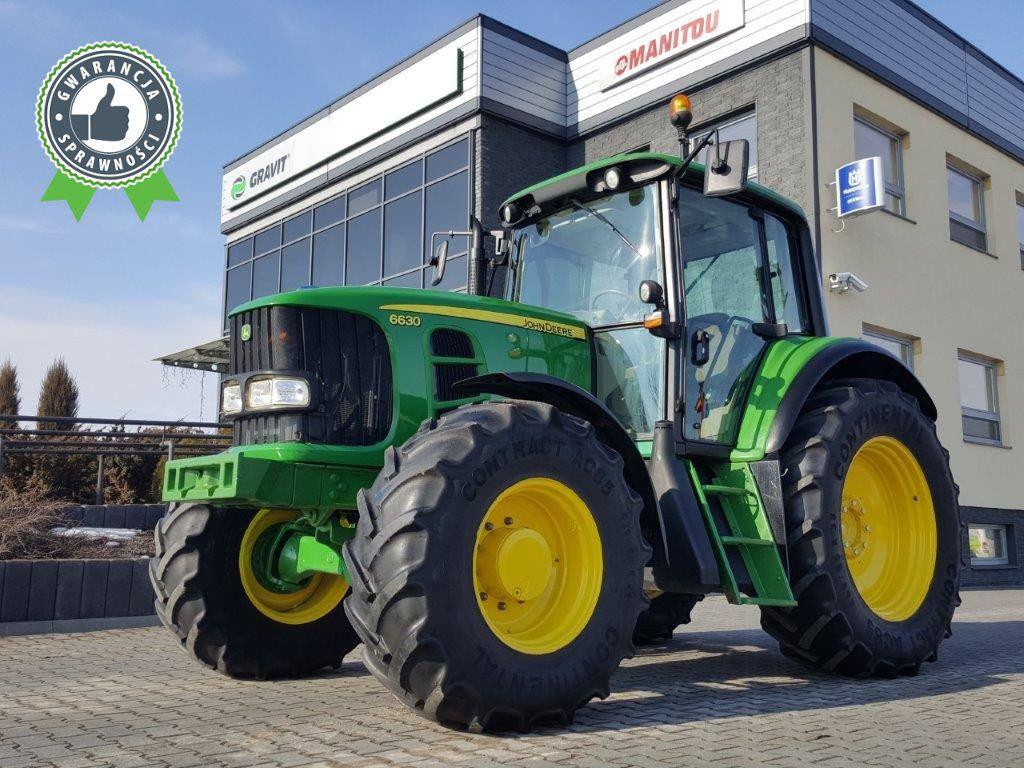 JOHN DEERE 6630 std tekerlekli traktör