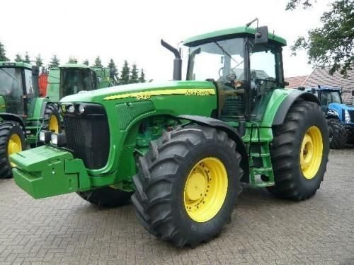 JOHN DEERE 8420 tekerlekli traktör
