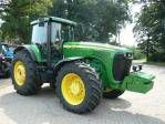JOHN DEERE 8520 tekerlekli traktör