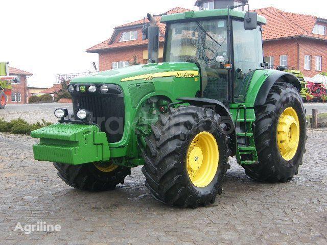 JOHN DEERE 9520 tekerlekli traktör