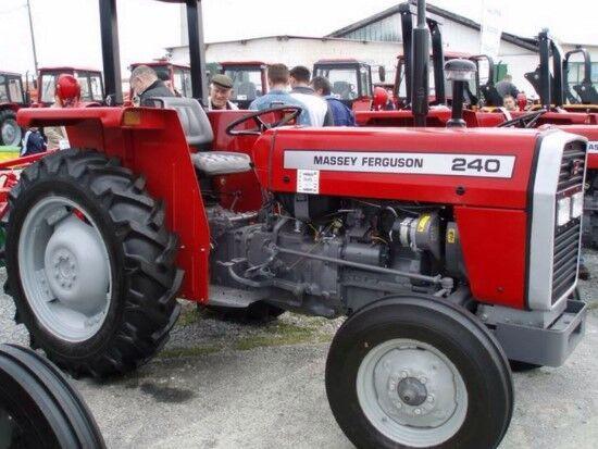 yeni MASSEY FERGUSON 240 tekerlekli traktör
