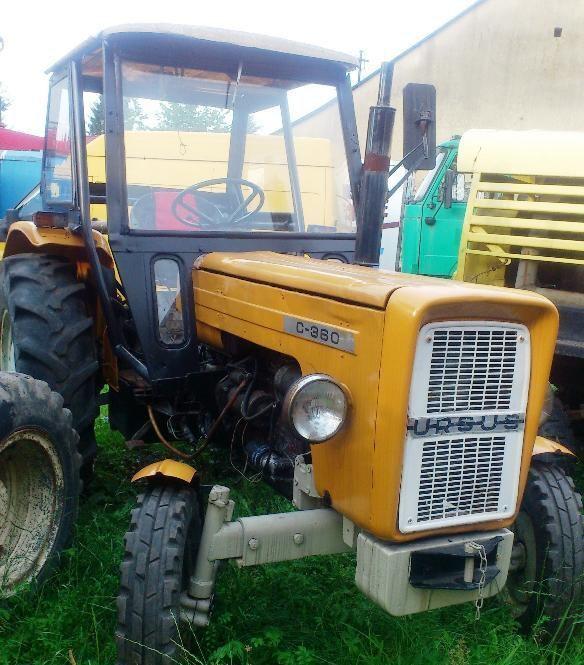 URSUS C-360 tekerlekli traktör