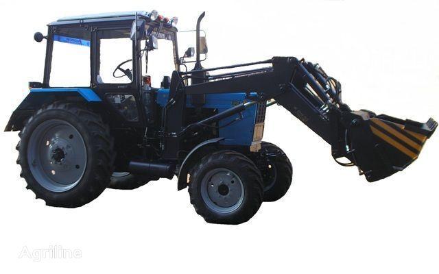 Frontalnyy chelyustnoy BAM-2021 na traktore MTZ tekerlekli traktör