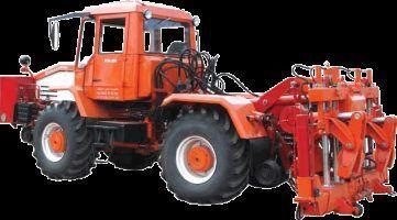 Universalnaya putevaya mashina UPM-1M na baze traktora HTA-200  tekerlekli traktör