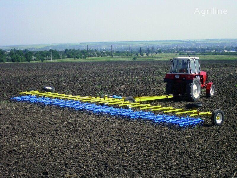 yeni Pruzhinnaya borona BZP-15,2 i BZP-24,5 (ZPG-15,ZPG-24) tırmık