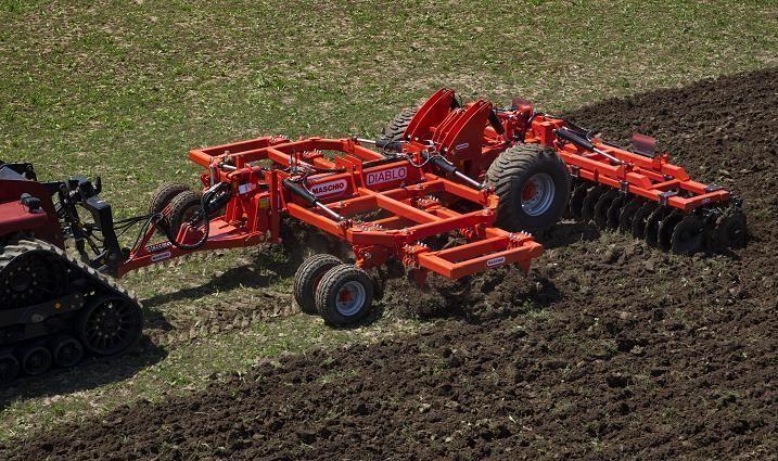 yeni GASPARDO DIABLO 600 toprak işlema makinası