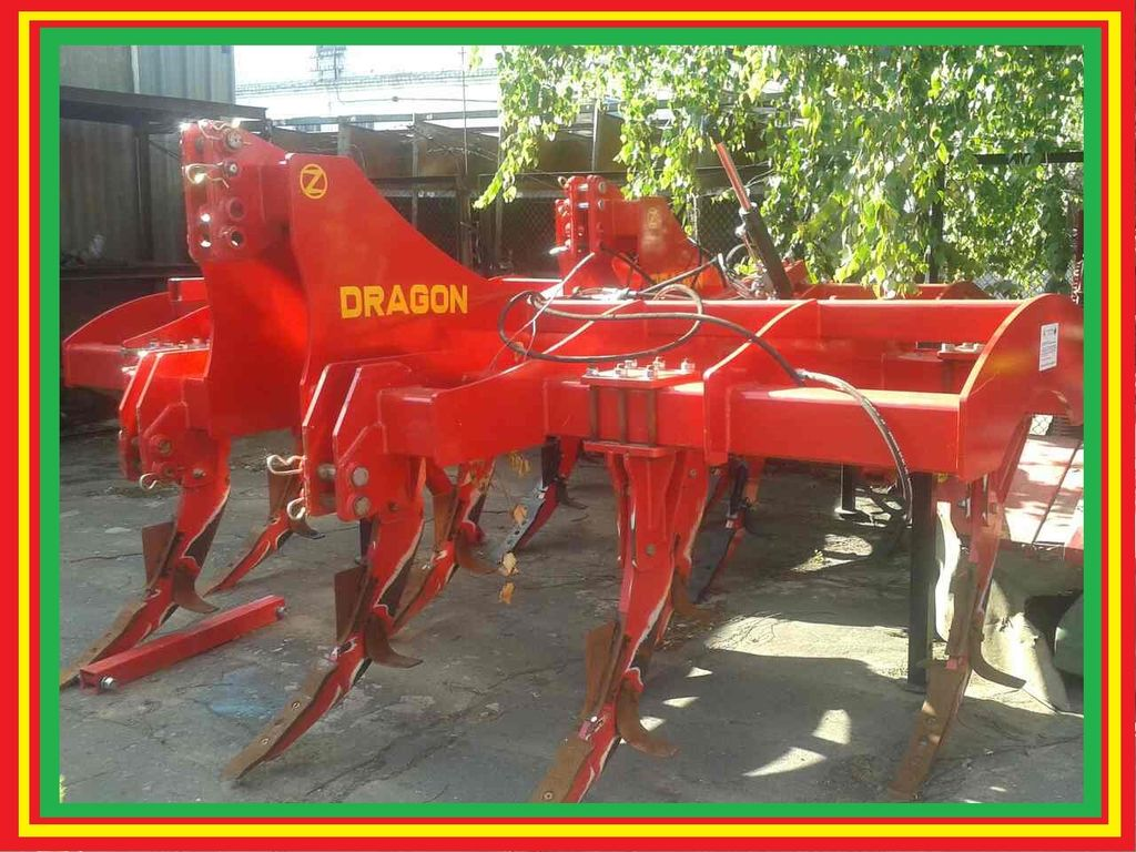 GASPARDO Dragon 7 (3,5m) Demo mashina toprak işlema makinası