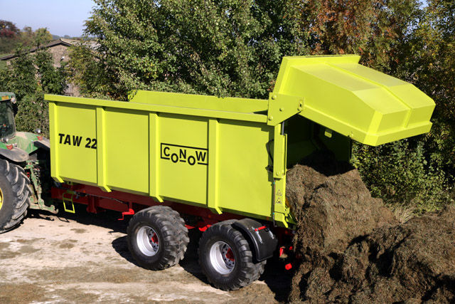 yeni CONOW TAW 22 traktör römork