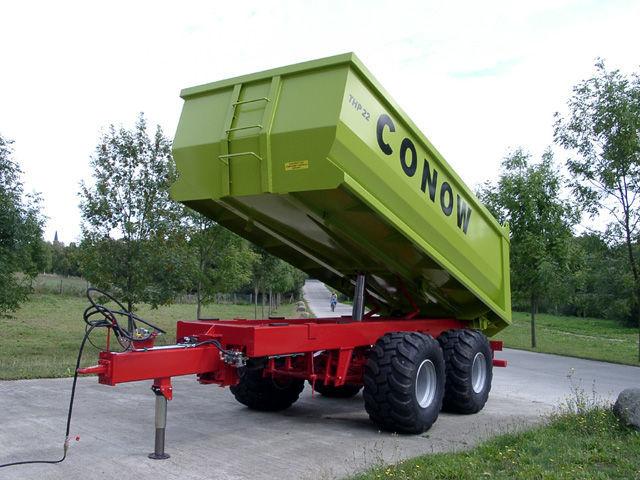 yeni CONOW THP 22 traktör römork