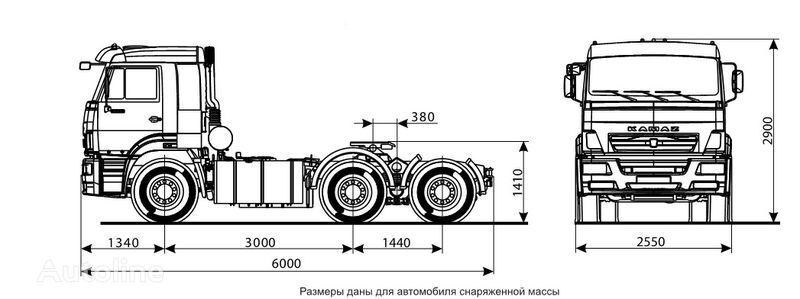 KAMAZ 6460 (6h4) tır