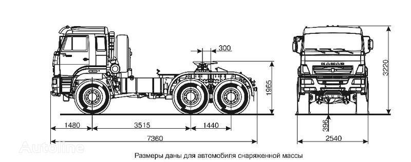 KAMAZ 65221  tır
