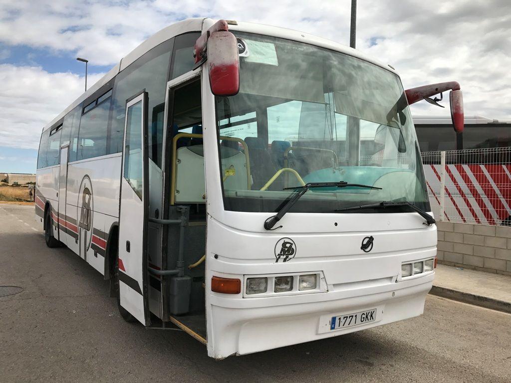 MERCEDES-BENZ O404 tur otobüsü