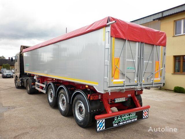 yeni JANMIL 50 cbm ALU, SAF -LIGHT 5800 kg !!! yarı römork damperli kamyon