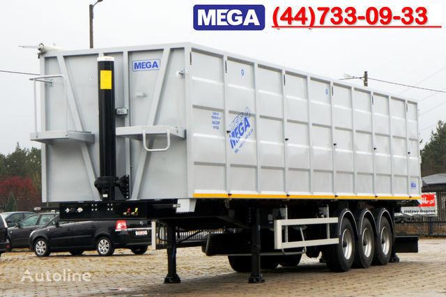 yeni KARGOMIL 70 m³ / 13,0 m LONG FOR SCRAP / IRON DOOR / STEEL yarı römork damperli kamyon