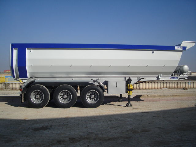 yeni LIDER LIDER DUMPER NEW 2017 YEAR yarı römork damperli kamyon
