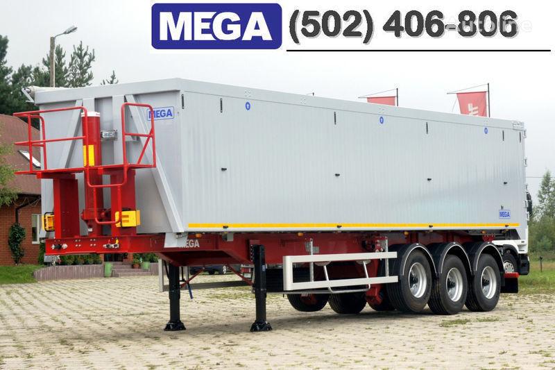 yeni MEGA 50/11300 KD - camosval 50 kub., pama k tyagachu 6x4, VYSOTA 3,00 m yarı römork damperli kamyon