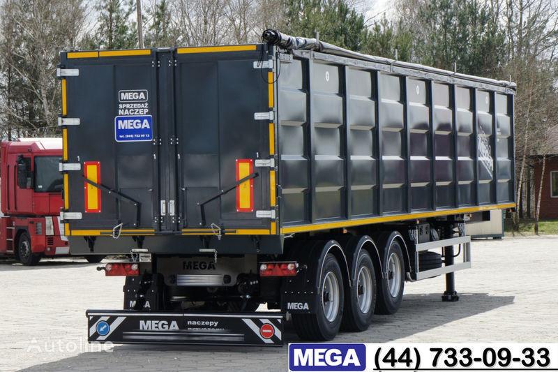 yeni MEGA 55 M³ DOMEX/OPTIM 650 STEEL TIPPER / HATCH-DOOR & GRAINHOLES !! yarı römork damperli kamyon