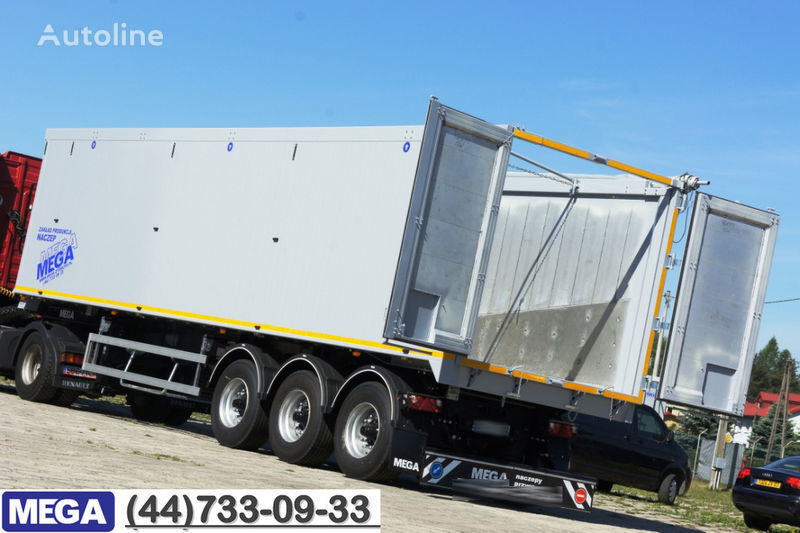 yeni MEGA 60/10200 KD - camosval 60 kub., klapan-dverey - !! GOTOV !! yarı römork damperli kamyon