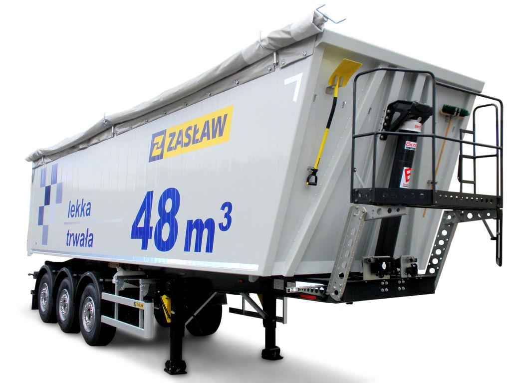 yeni ZASLAW TRAILIS ALUMINUM TIPPER NW.90.21.AKD.S yarı römork damperli kamyon