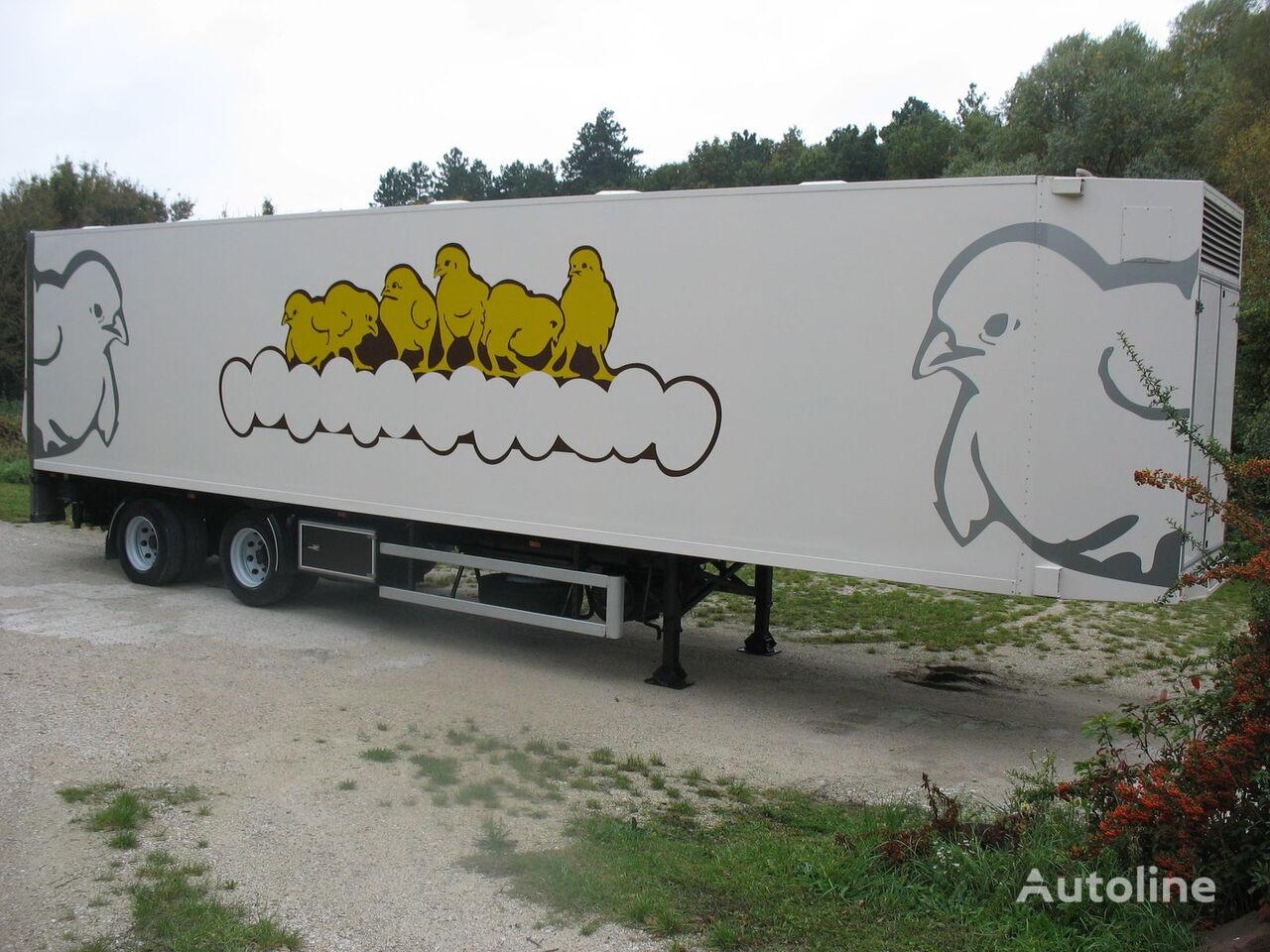 DRACO txa32 yarı römork kuşların taşınması için
