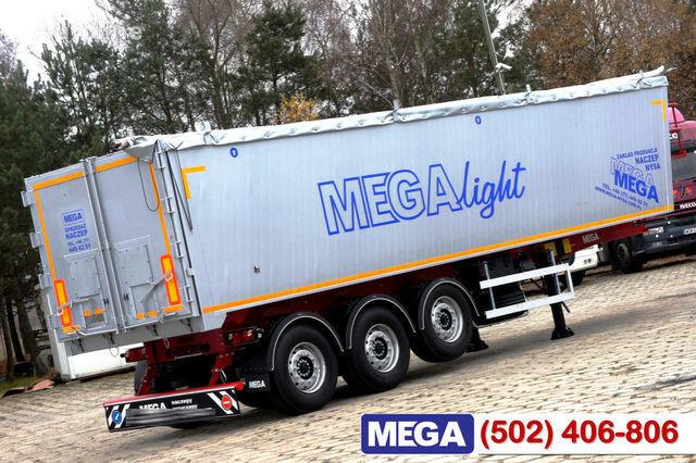 yeni KARGOMIL 42 - 45 m³ Alubox - ULTRA - light only 5,800 kg weight ! READY T yarı römork tohum taşımak için