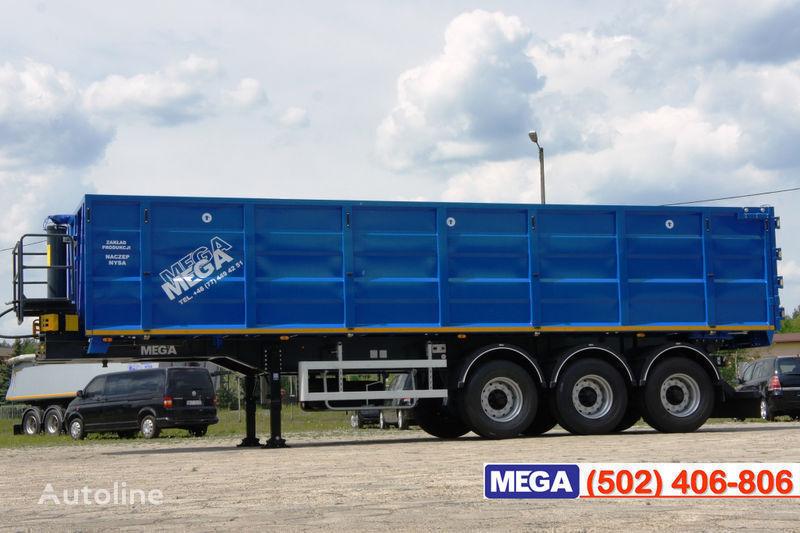 yeni MEGA 38/10200 KD pama k tyagachu 6x4 yarı römork tohum taşımak için