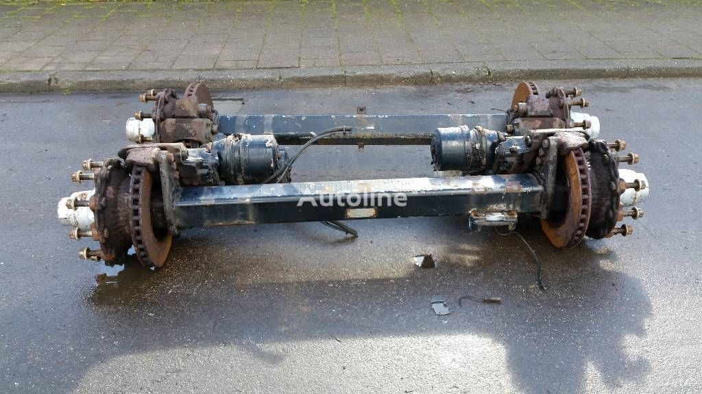 BPW ECO TRAILER AXLES römork için BPW ECO aks