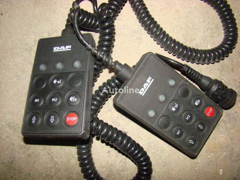 DAF 105XF tır için DAF 105XF remote control ECAS 1337230; 4460561290, 1657854, 1659760, 1669461, 1686733, 1690391, 1732019, 1780197, 1780200, 1792640, 1848360, 1851259, 1851261, 1851747, 1898313, 1898316, 1898317 cihaz paneli