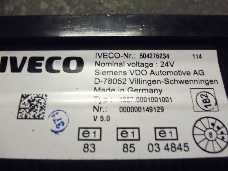IVECO Stralis tır için IVECO EURO5 instrument panel cluster 504276234, 504226363, 504025358, 504156164, 504156187 cihaz paneli
