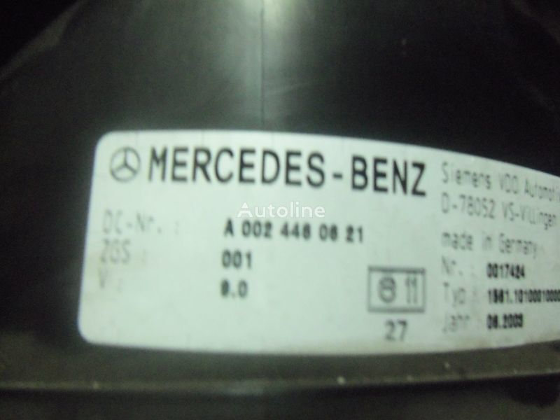 MERCEDES-BENZ Actros tır için Mercedes Benz Actros MP2, MP3, MP4, INS electronic instrument panel 0024461321 cluster, 0024464321, 0024467421, 0024469921, 0034460521, 0044460621, 0044461821, 0014467021, 0024460721, 0024461421, 0024464421, 0024467521, 0034460021, 0034460621, 0044461921, cihaz paneli