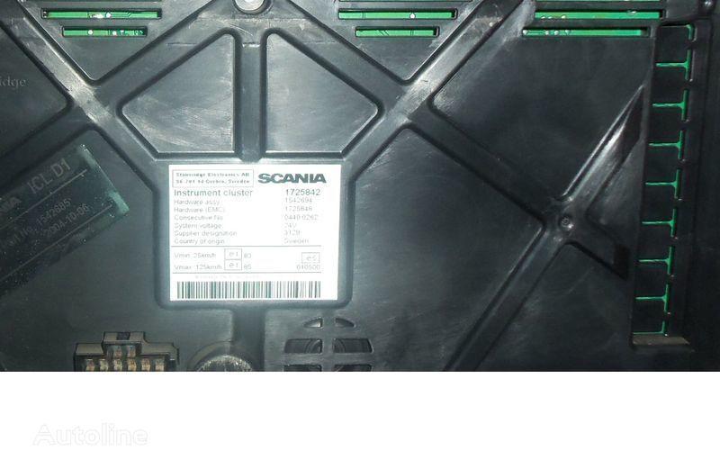 SCANIA R tır için Scania R series instrument panel, instrument cluster, dashboard, 1725842 instrument cluster, 1507322, 1545985, 1545989, 1545993, 1763551, 1765222, 1849503, 1852891 cihaz paneli