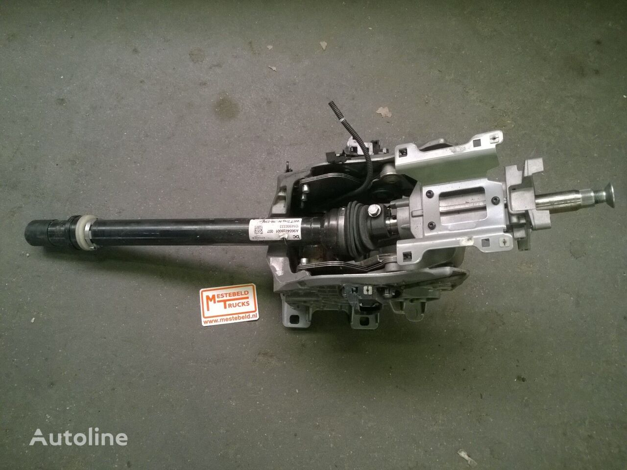 MERCEDES-BENZ Stuurkolom MP4 kamyon için Stuurkolom direksiyon kutusu