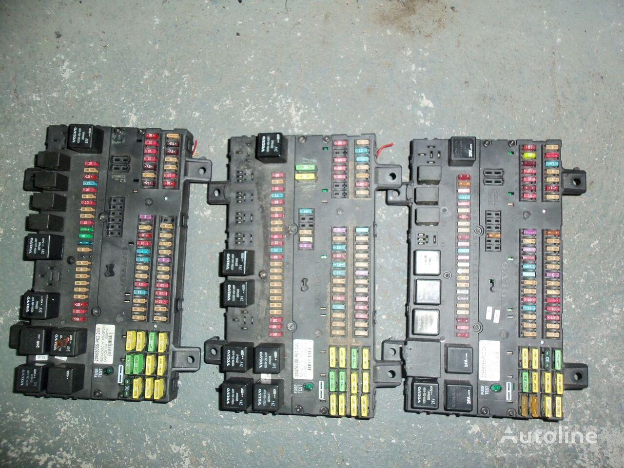 VOLVO FH13 tır için VOLVO FH13 fuse and relay center, central electrical box 20568055, 21732199 emniyet kutusu
