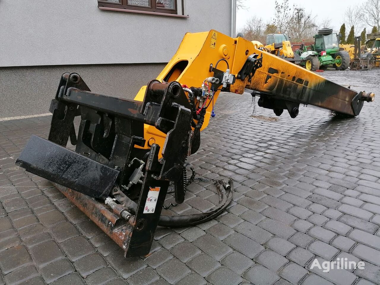 traktör için Maszt Ramię Kompletny Dieci 32.6 Agri Farmer forklift kaldırma direği
