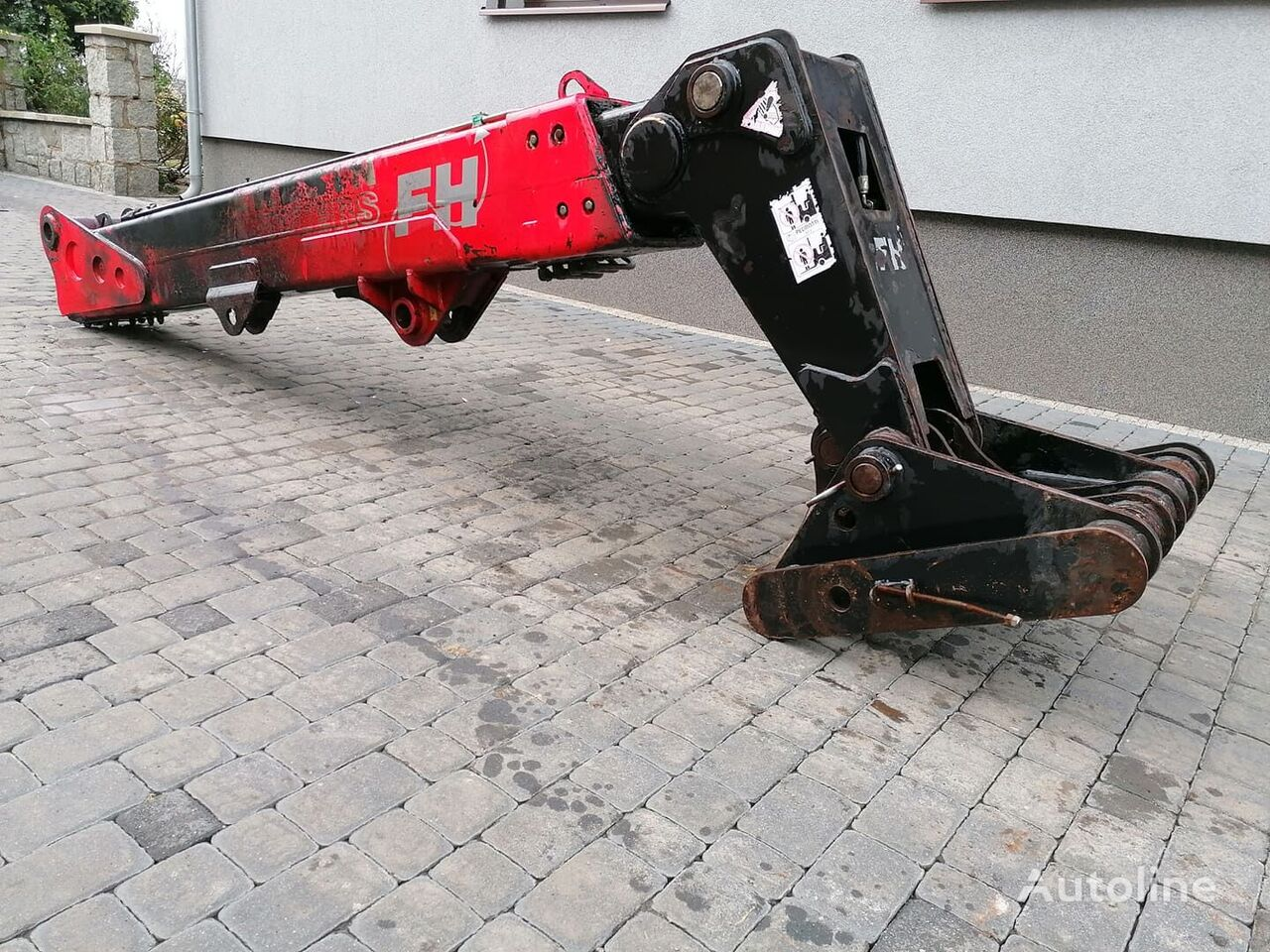 traktör için Maszt Ramię Kompletny Faresin FH6.25 forklift kaldırma direği
