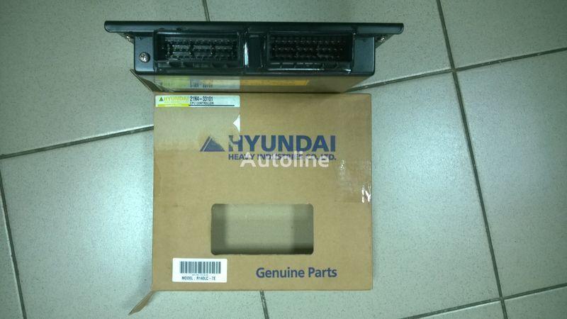 yeni HYUNDAI  R140LC-7 ekskavatör için Hyundai 21N4-33101 CPU CONTROLLER gösterge paneli