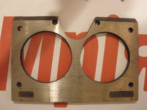 beton pompası için MECBO Iznosostoykie (plity treniya) gözlük plaka