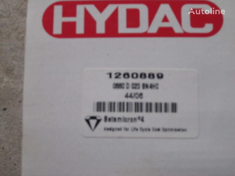 yeni ekskavatör için Nimechchina Hydac 1260889 hidrolik filtre
