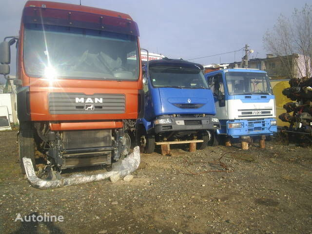 MAN TGA 18.460 kamyon için kabin