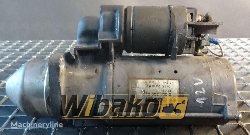 0001230013 ekskavatör için Starter Bosch 0001230013 marş