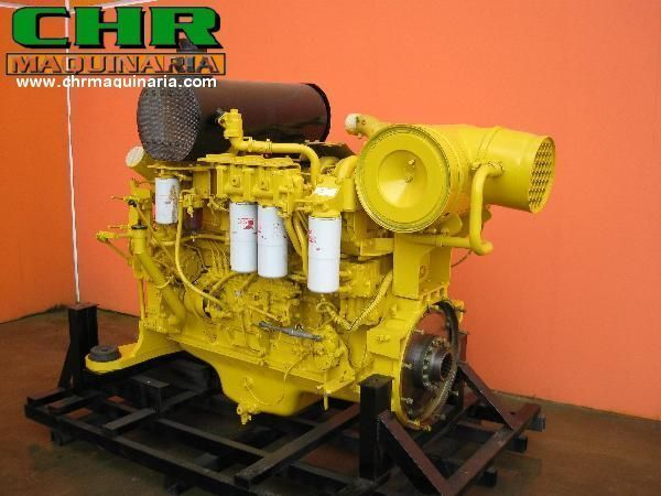 ekskavatör için KOMATSU PC750 SAA6D140-E2 motor