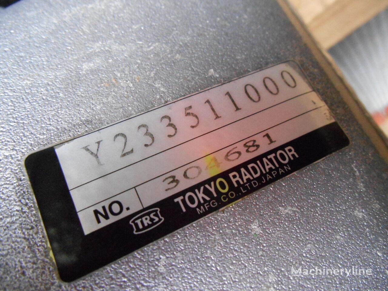 HITACHI ZX280LC-3 ekskavatör için HITACHI Tokyo Y233511000 motor yağı soğutucusu