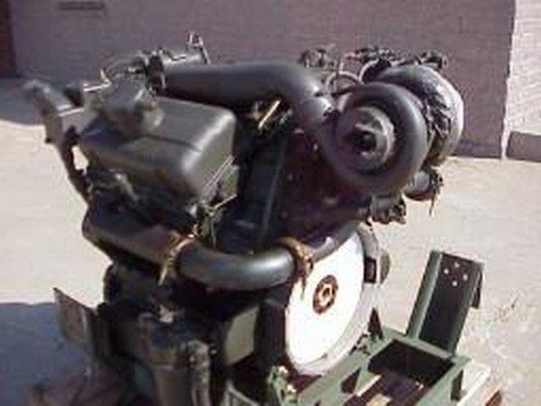 Detroit 6V53T ekskavatör için motor